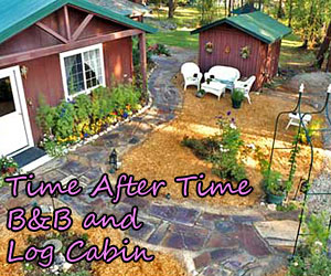 Time After Time B&B and Dragonfly Cabin - Nestled within pine trees, our park-like grounds, pond and access to the Bitterroot River make us a wildlife paradise. Fishing close by, unique & warm room styles, plus delectable daily made-to-order breakfasts.