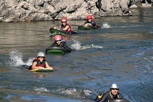 Montana River Guides - trips kids will love :: Montana's best whitewater rafting & river-boarding! Alberton Gorge Ranch awaits with professional guides for great river excitement in a beautiful setting, for all ages.