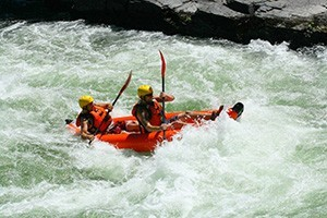 Pangaea River Rafting - add kayak for $10 extra :: Anything but ordinary with a little something for everyone. Whitewater adventures for family & friends. Offering individual inflatable kayaks for $10/additional/per person.
