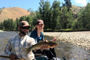 Montana Fishing Outfitters - on the Bitterroot :: Great guided trips on the western freestone rivers of the Missoula area - the Blackfoot, Clark Fork and Bitterroot Rivers. Package trips available, great guiding guaranteed.