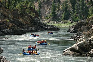 Lewis & Clark Whitewater River Adventures :: Guided & family-friendly raft trips on the Clarks Fork, whitewater fun downstream in the Alberton Gorge. Select from full-day, half-day and Evening floats. Downtown Missoula.