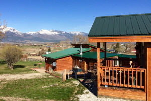 Wilderness Spirit Cabins - October fall colors