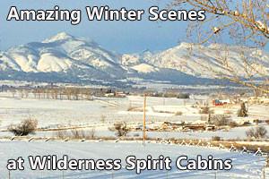 Wilderness Spirit Cabins - enjoy winter splendor
