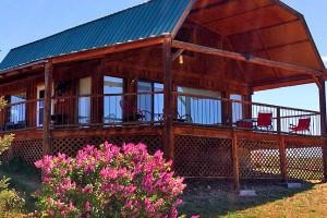Wilderness Spirit Cabins - warm Spring lodging