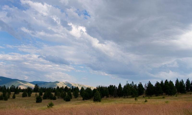 Overlooking the Blue Mountain Recreation Area