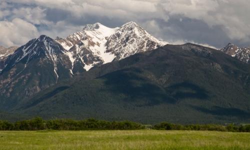 Missoua Montana Mountain Ranges