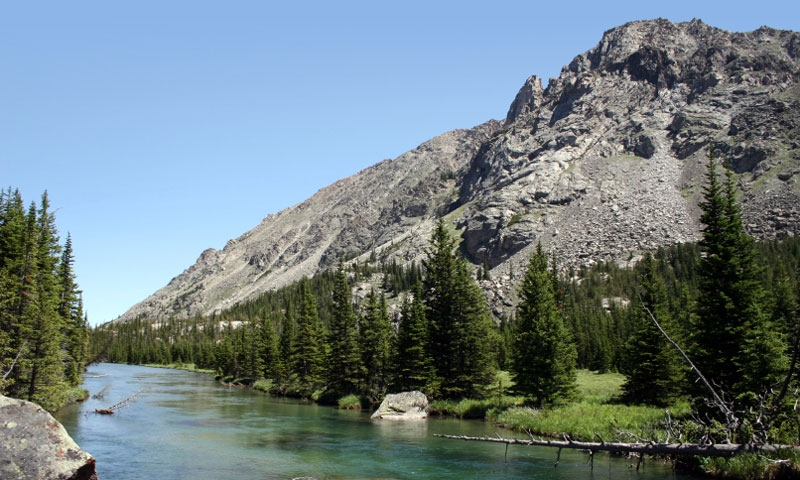 West Fork of Rock Creek in Montana