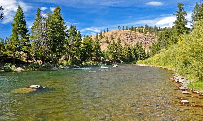 Blackfoot River Montana Fly Fishing Camping Boating Alltrips