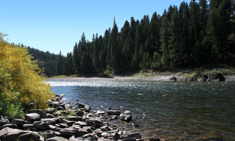 Clark Fork River Montana Fly Fishing Camping Boating