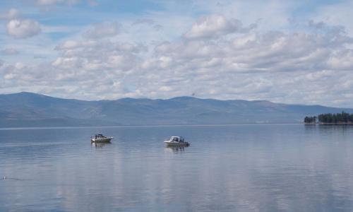 Flathead Lake Montana Fishing Camping Boating Alltrips