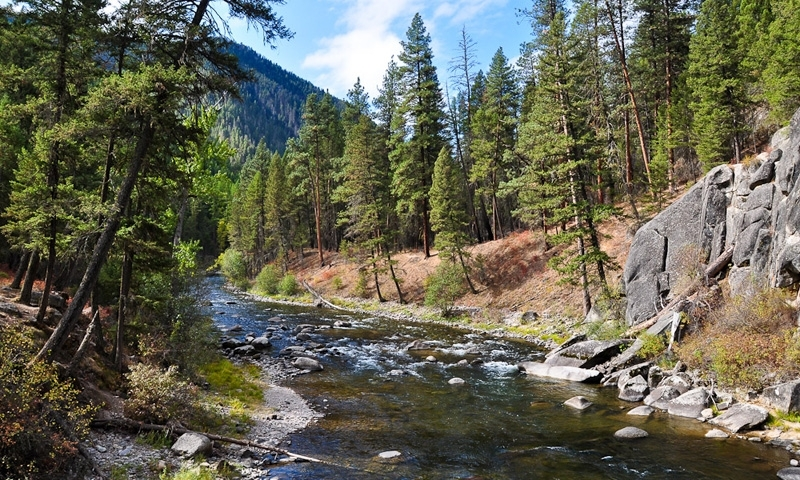 rock creek montana fly fishing camping boating alltrips