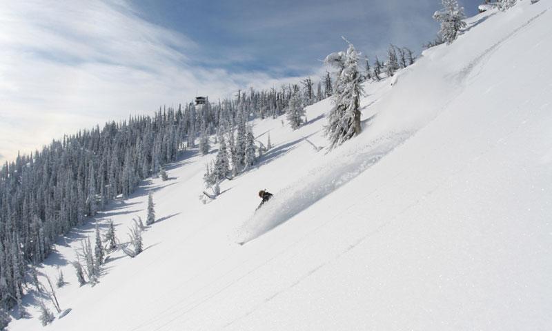 Skiing in Swan Valley Montana