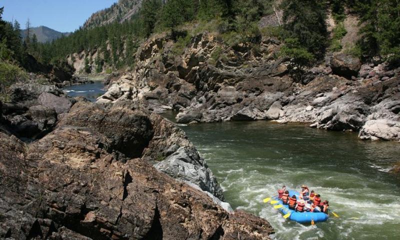 Bitterroot Valley Rafting
