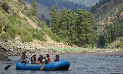 Missoula White Water Rafting