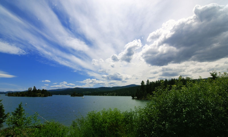 Flathead Lake from the Shore