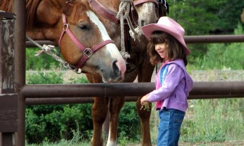 Missoula Montana Kids Horseback