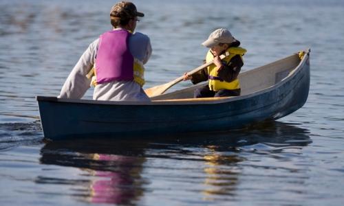 Missoula Montana Kids Canoeing