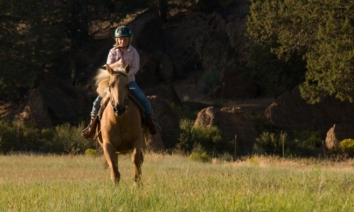 Missoula Montana Kids Horseback Riding
