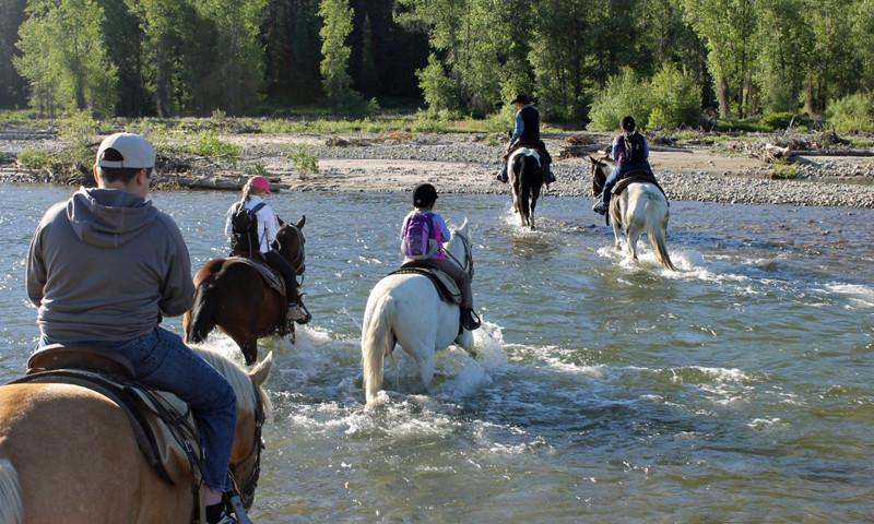 horseback riding grand teton park