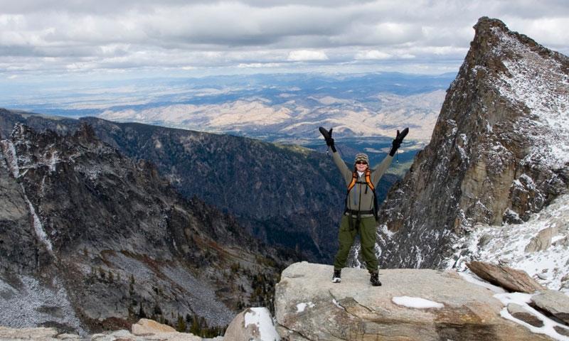 Bitterroot Mountains Montana Climbing