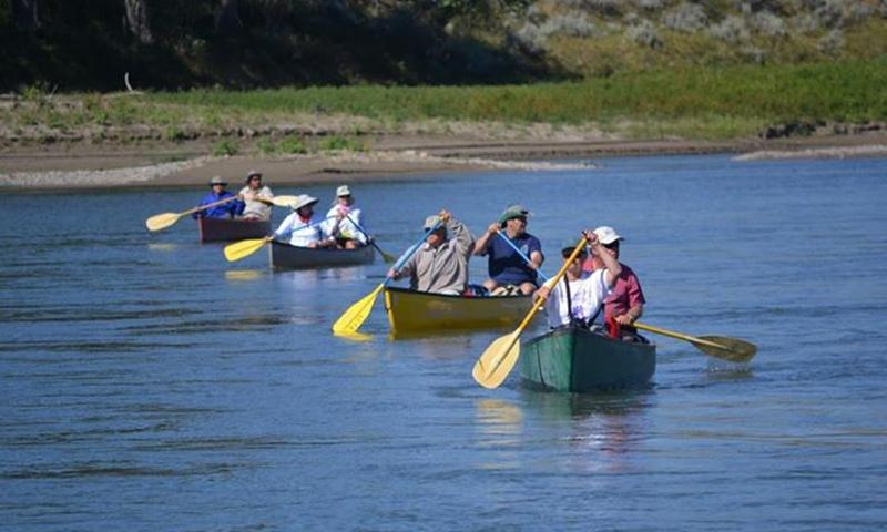 Bitterroot Valley Canoeing