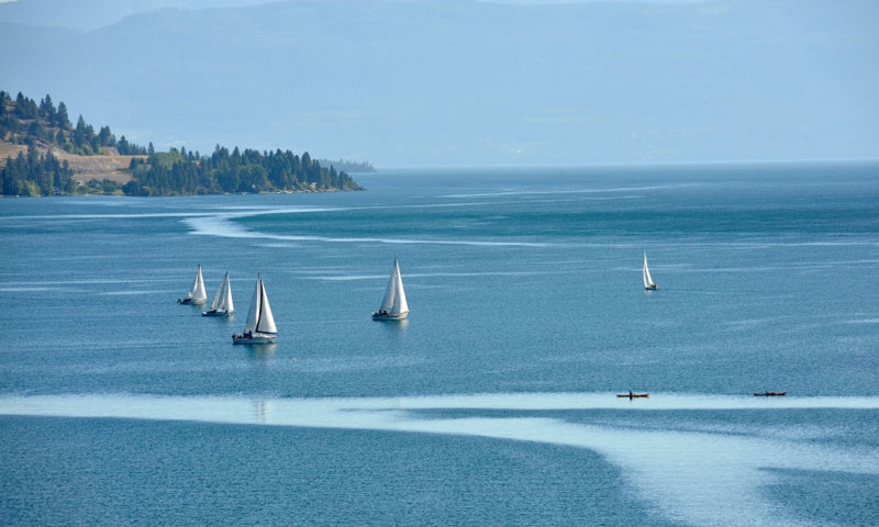Flathead Lake Montana Boating Sailing