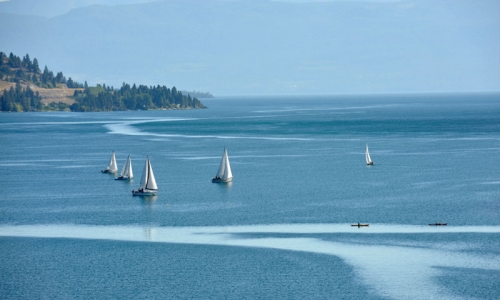 Flathead Lake Montana Boating Sailing